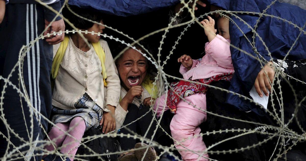 Фото мигрантов шокировали мир