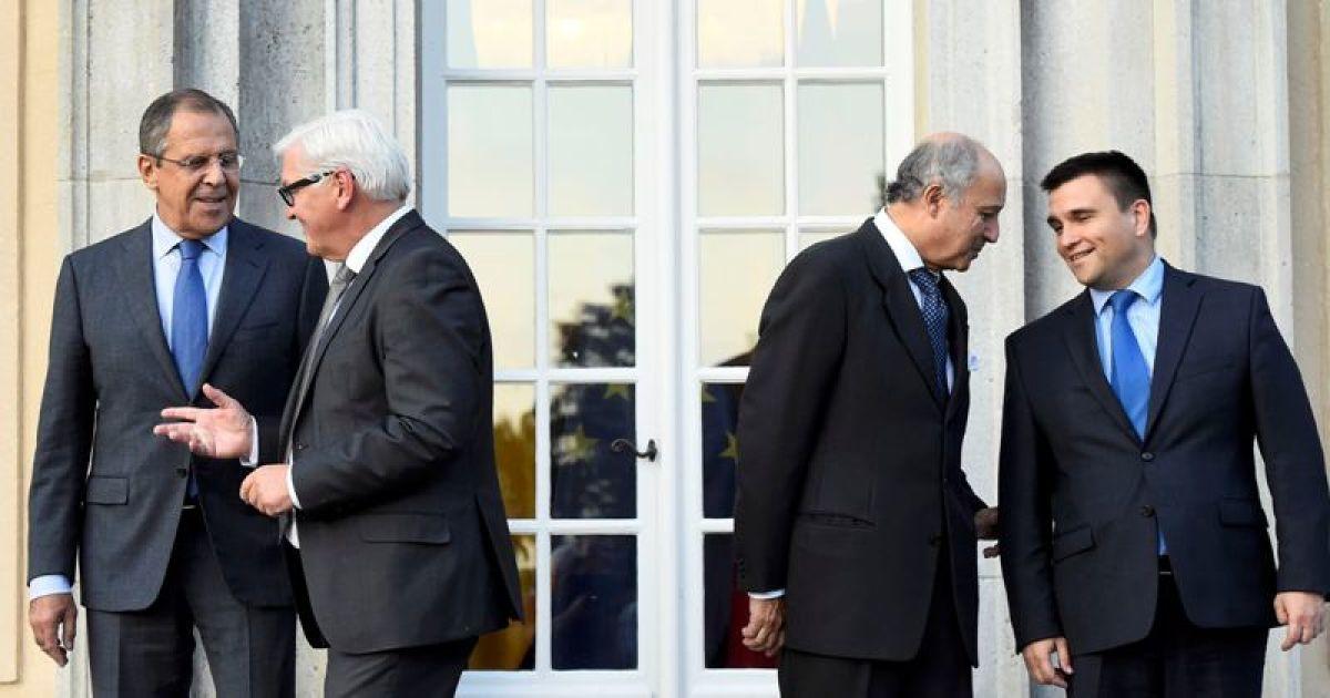 """В Берлине встретились руководители МИД стран """"нормандской четверки"""" @ Reuters"""