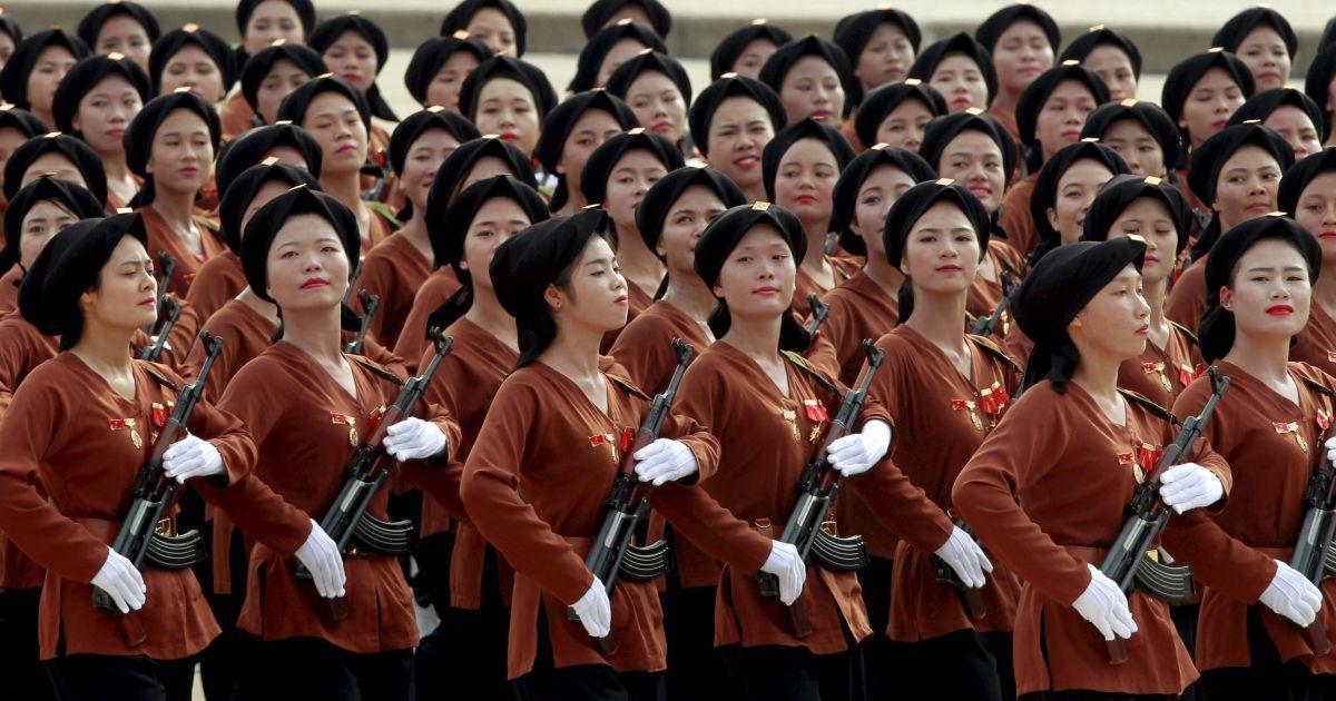 Во Вьетнаме состоялся военный парад по случаю 70-летия независимости страны @ Reuters