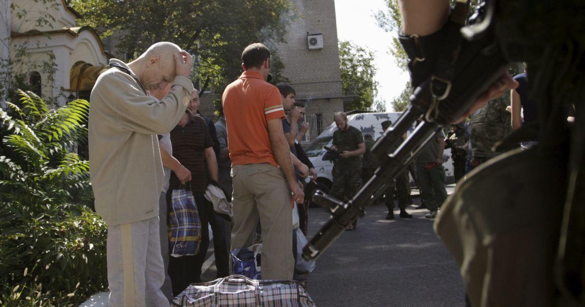 В СБУ назвали количество пленных боевиками украинцев