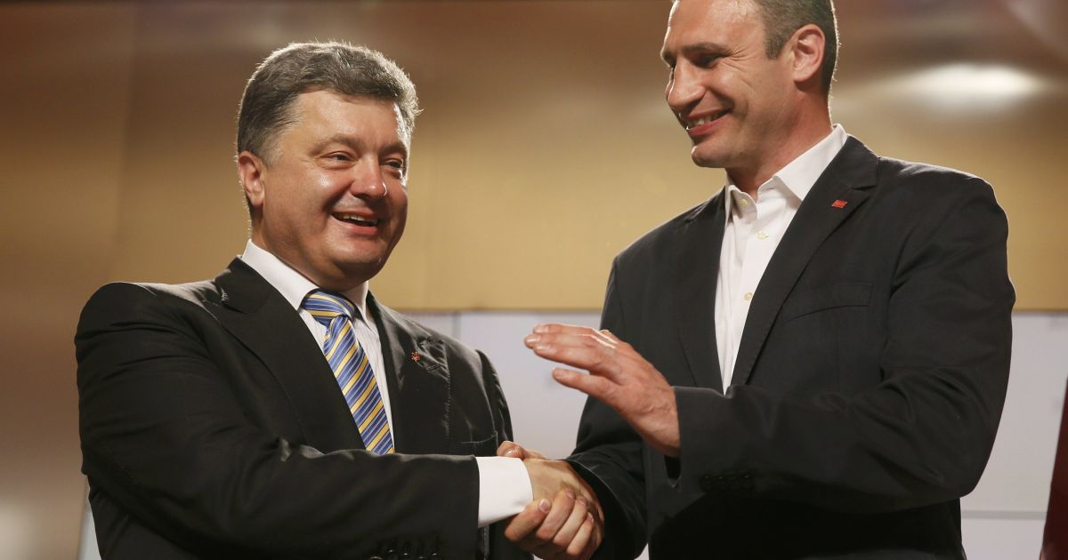 Порошенко прокомментировал партийное слияние с Кличко