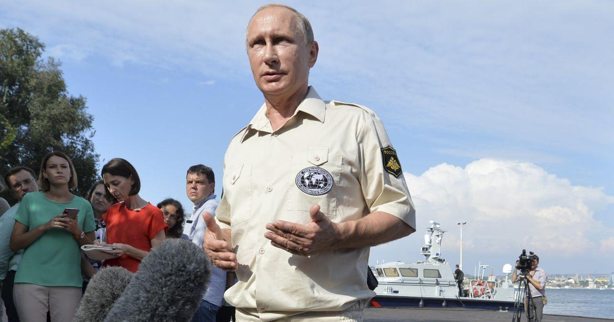Путин побывал на дне Черного моря