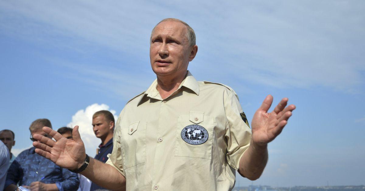 """Путину мерещится угроза """"дестабилизации"""" ситуации в аннексированном Крыму"""