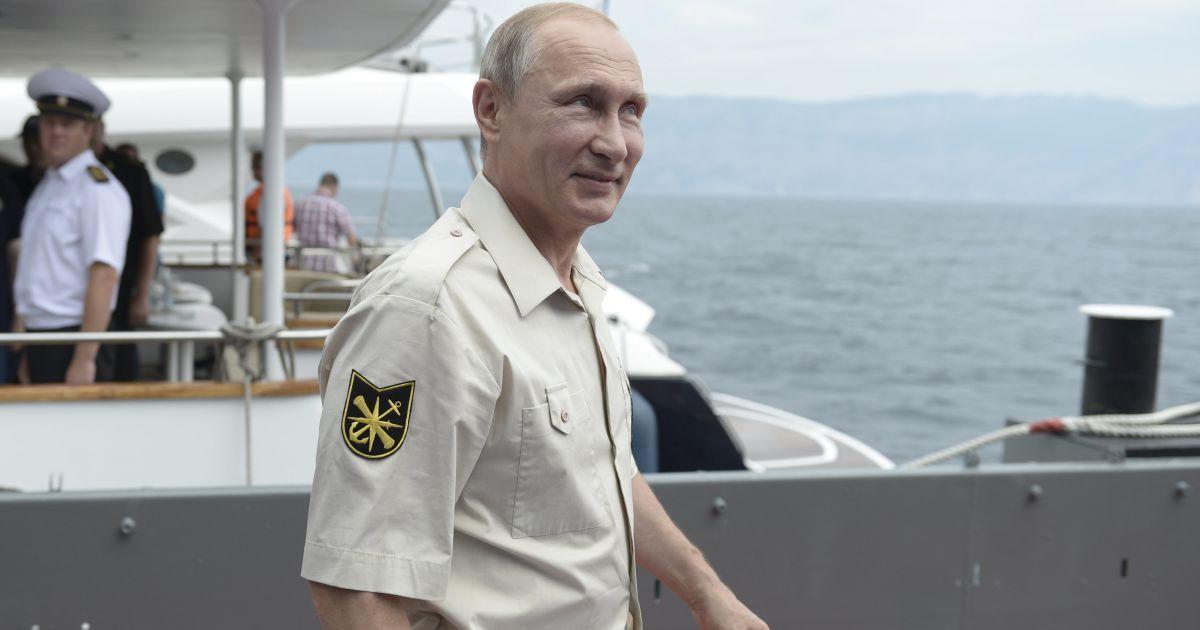 Путин не признался, где он остановился в аннексированном Крыму