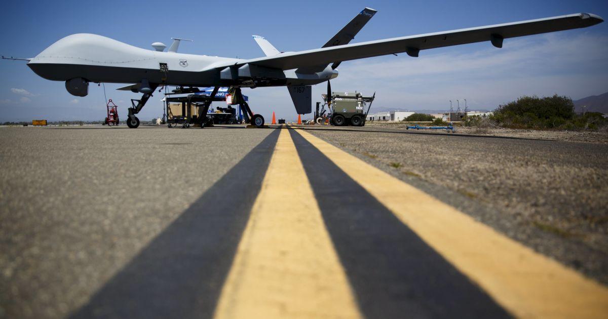 Военные беспилотники США могут появиться в небе над Украиной