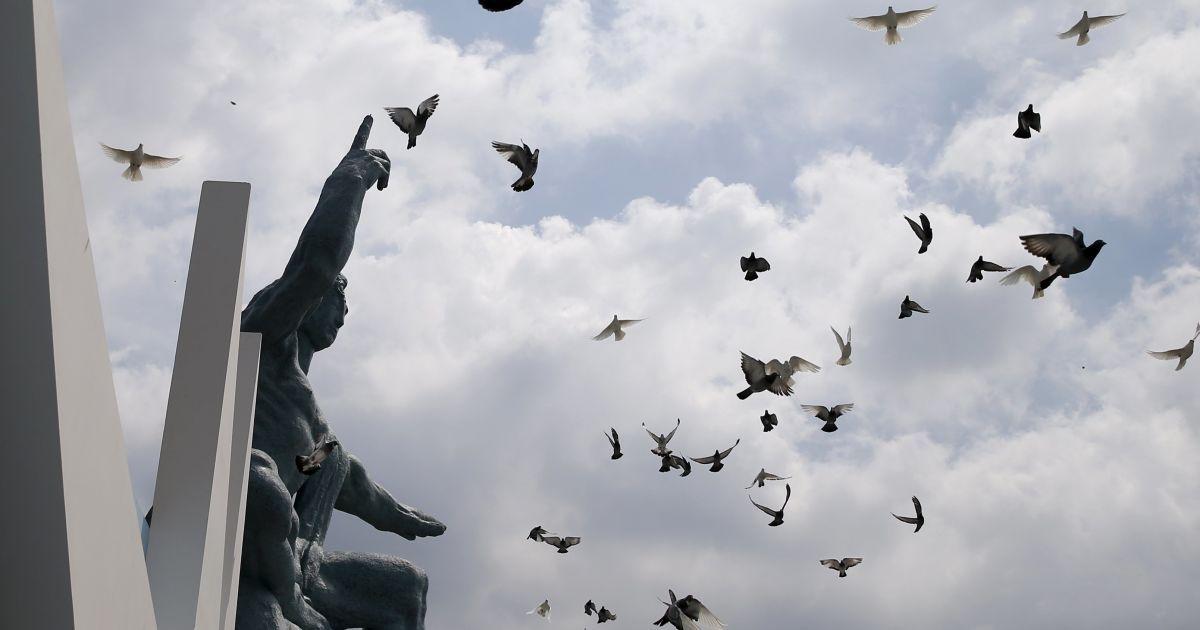 Японцы вспоминают жертв ядерной бомбардировки Нагасаки @ Reuters