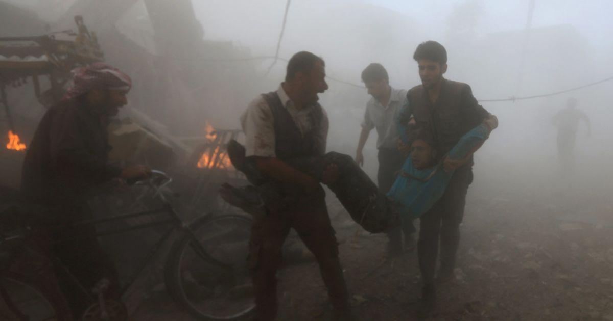 Россия убила за один день минимум 45 сирийцев