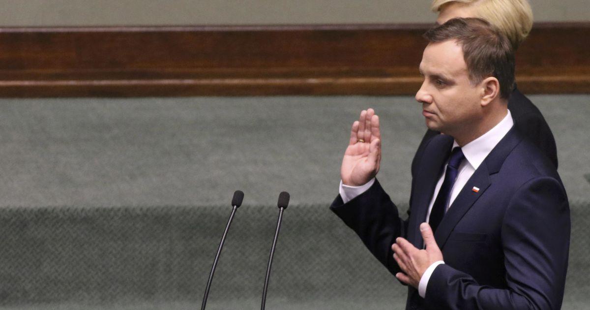 В канцелярии президента Польши рассказали, когда Дуда встретится с Порошенко
