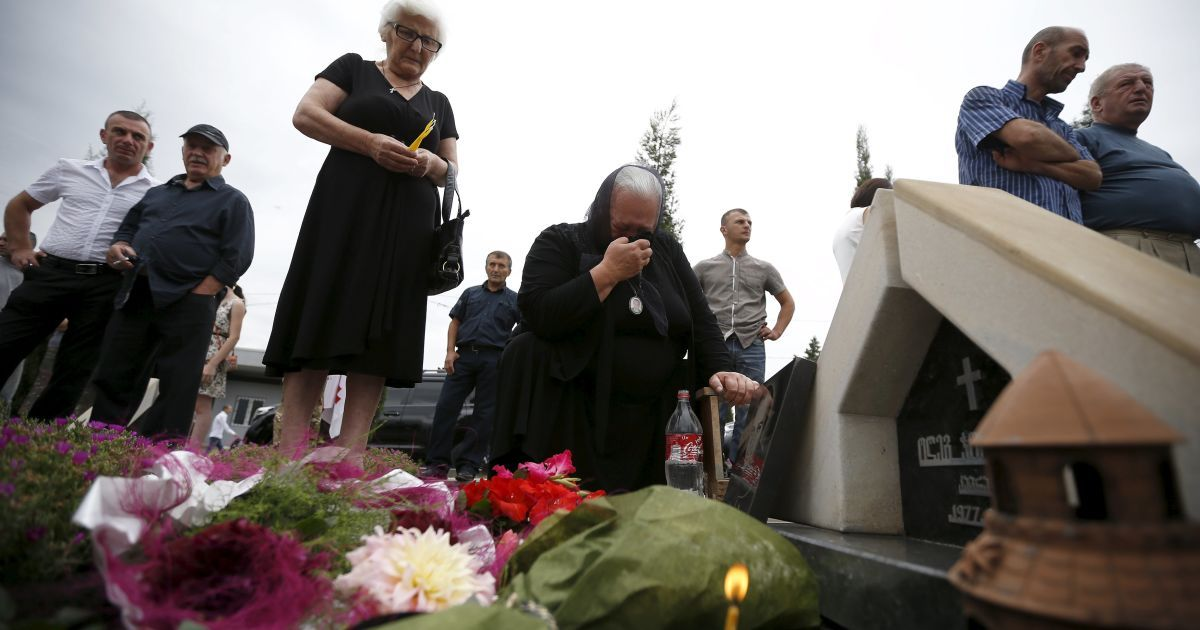 08.08. вспоминают погибших во время российской агрессии @ Reuters