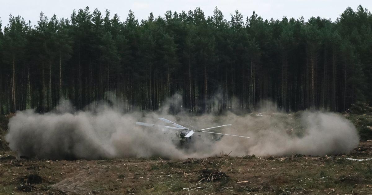 Российский Ми-28Н упал при авіаушоу и загорелся @ Reuters