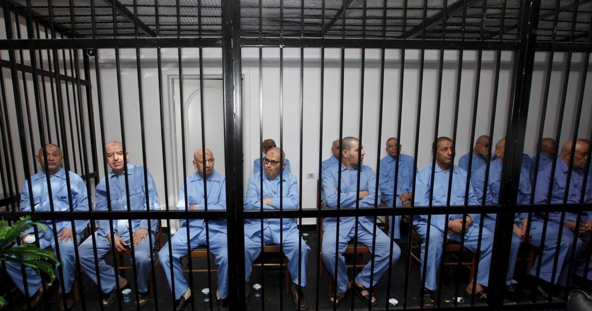 Суд над чиновниками режиму Каддафі.