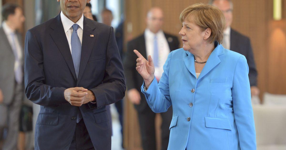 Меркель и Обама обсудили ситуацию на Донбассе