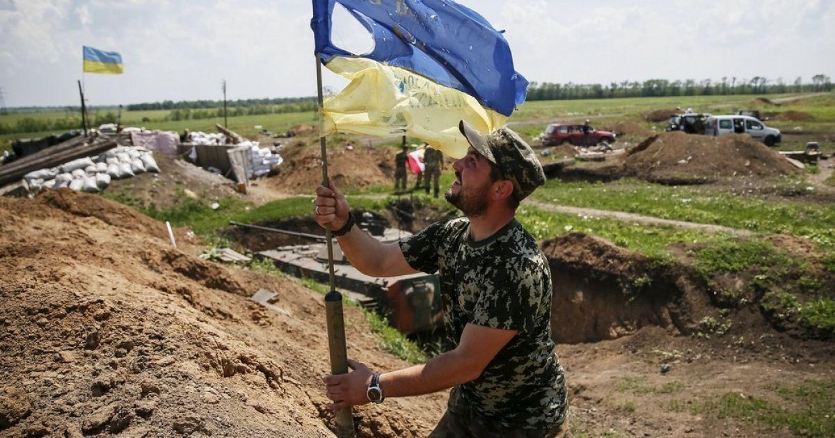 На ключевых узлах украинской обороны установилось затишье. Карта АТО