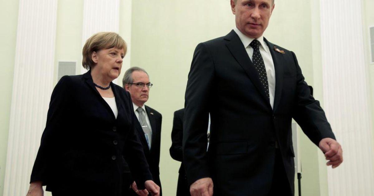 Меркель заявила о необходимости участия России в сирийском конфликте
