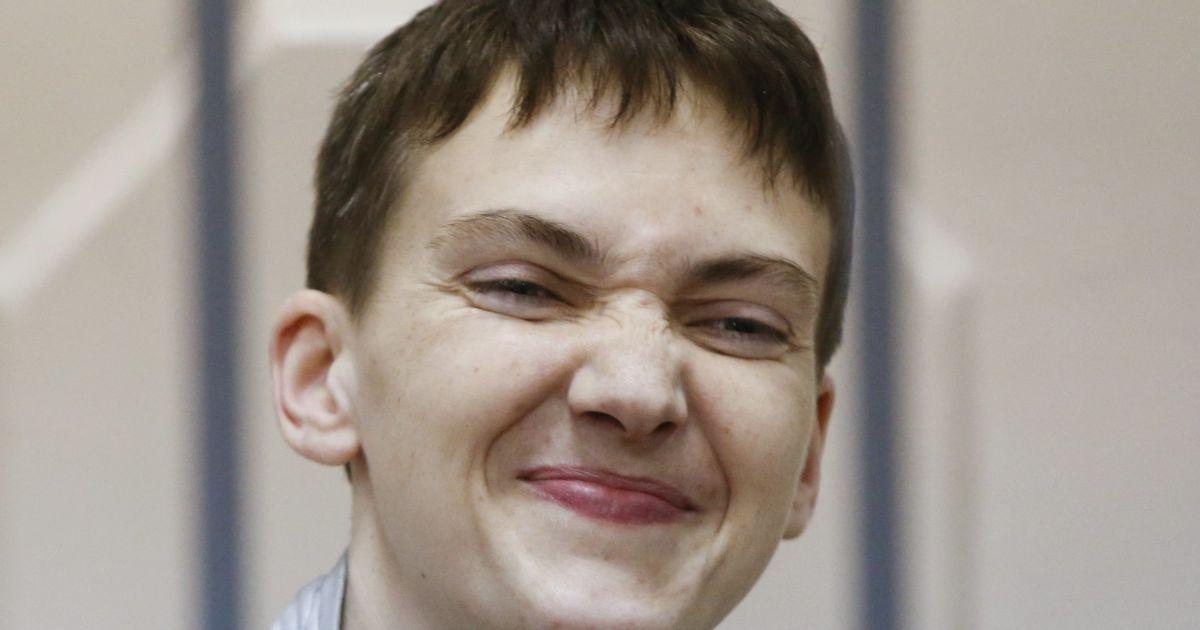 Судья запрещает кивать головой присутствующим на заседании по Савченко