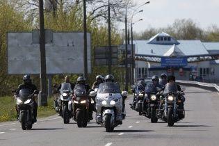 Российские байкеры совершили мотопробег в оккупированный Луганск