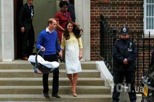 Дочь Кейт Миддлтон и принца Уильяма покрестят Бекхэм и принцессы - СМИ