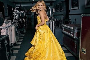 У пишній жовтій сукні: Різ Візерспун продемонструвала розкішний образ