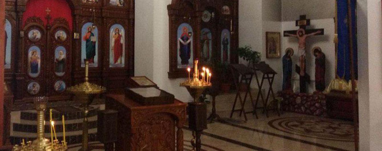 На Донетчине мужчина украл из храма мощи святого Георгия Победоносца