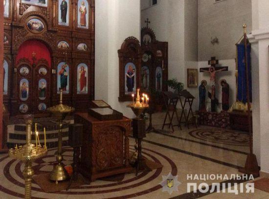 На Донеччині чоловік поцупив із храму мощі святого Георгія Побідоносця