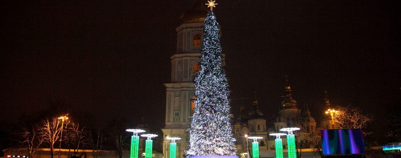В КГГА подсчитали, сколько людей встретили Новый год в центре Киева