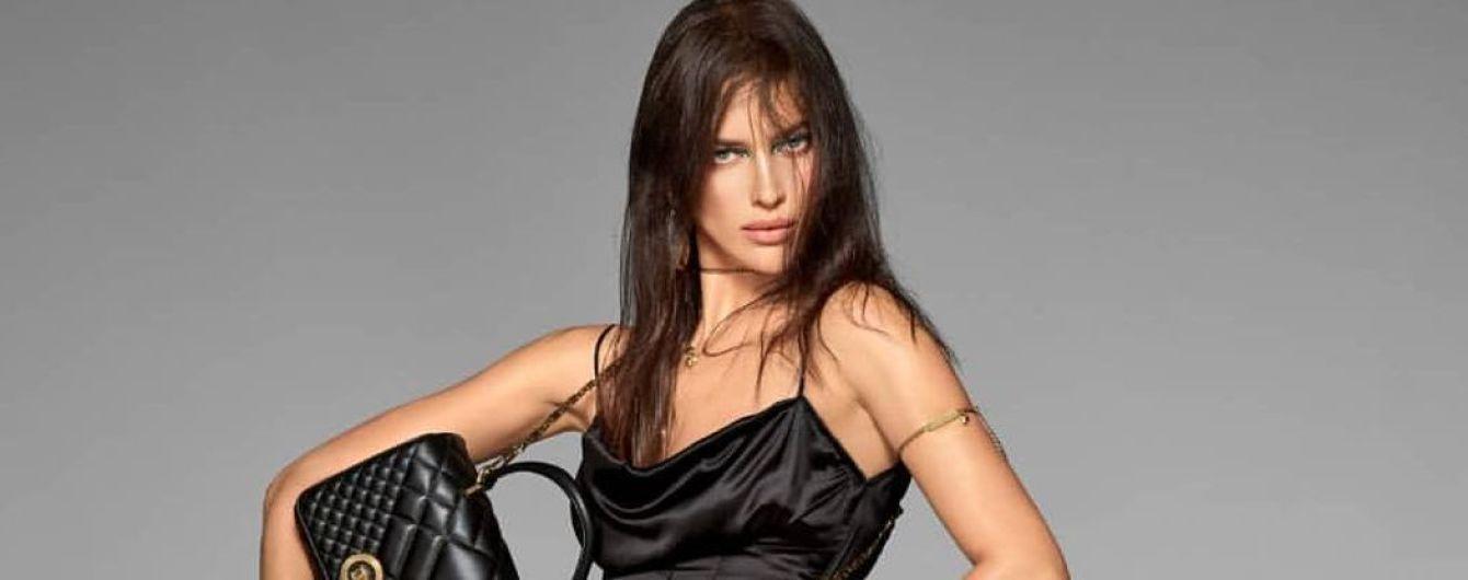 В шовковій сукні і на підборах: ефектна Ірина Шейк поділилася новим знімком
