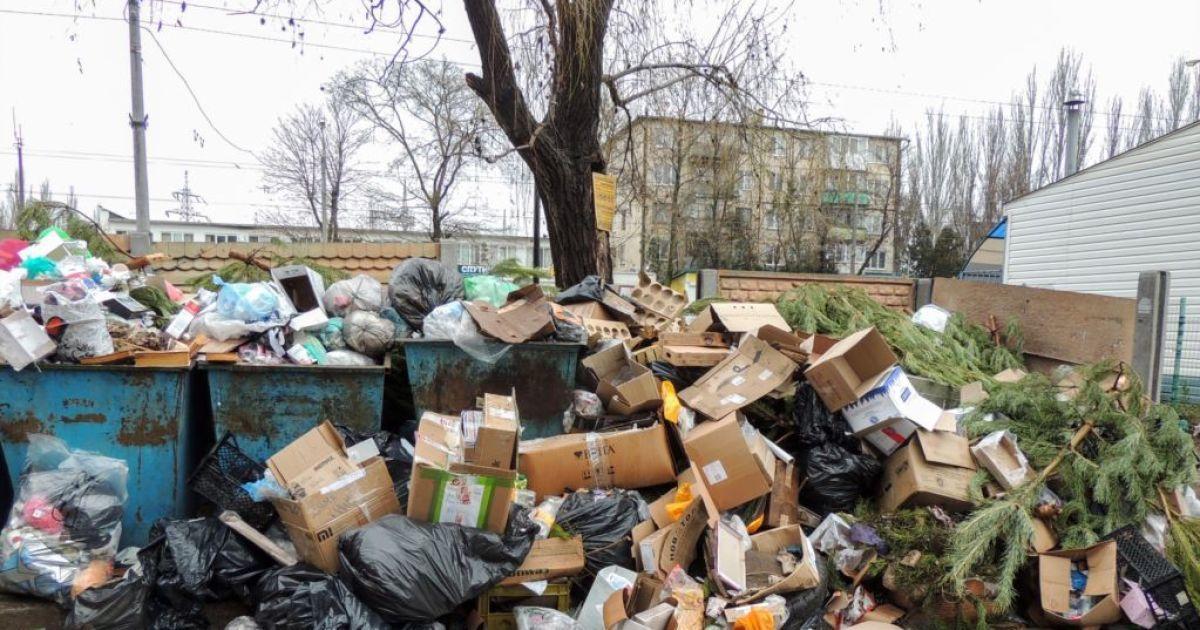 Керчь в мусоре @ Крым.Реалии