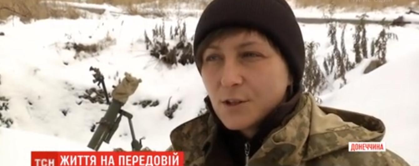 Не святкувала сама, щоб інші змогли: жінка-командир на передовій відзначатиме Новий рік аж у березні