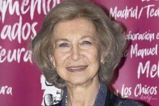 Выглядит блестяще: 80-летняя королева София сходила на концерт