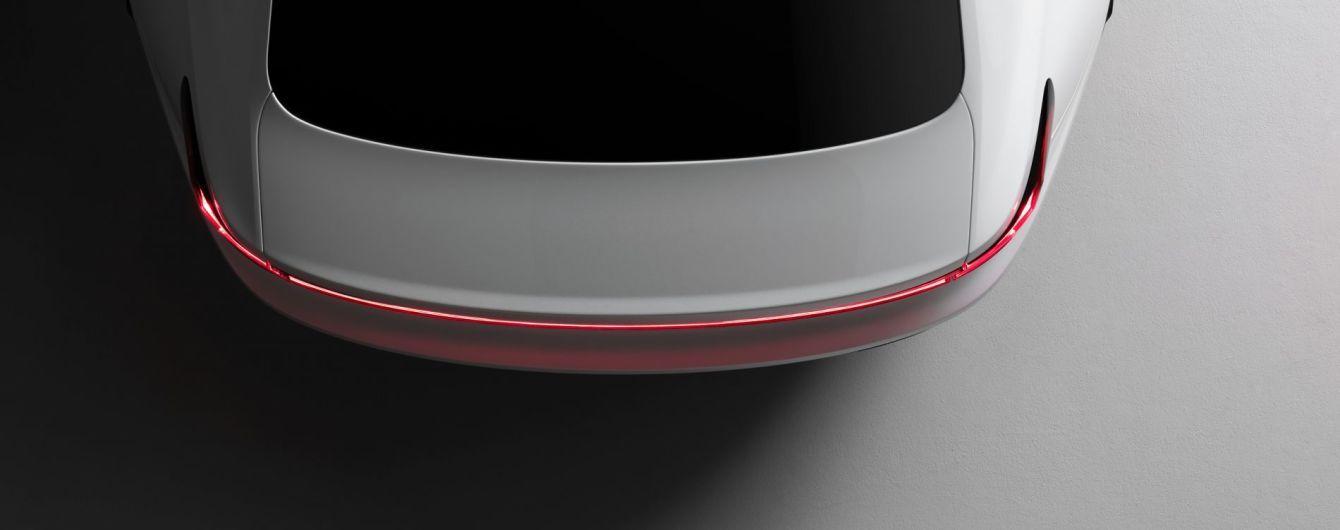 Суббренд Volvo вперше показав тизер конкурента Tesla Model 3