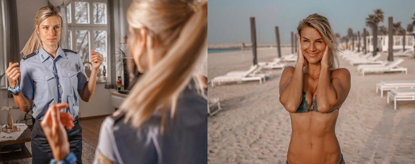 Коп vs. модель. Что постит самая красивая полицейская Германии в Instagram