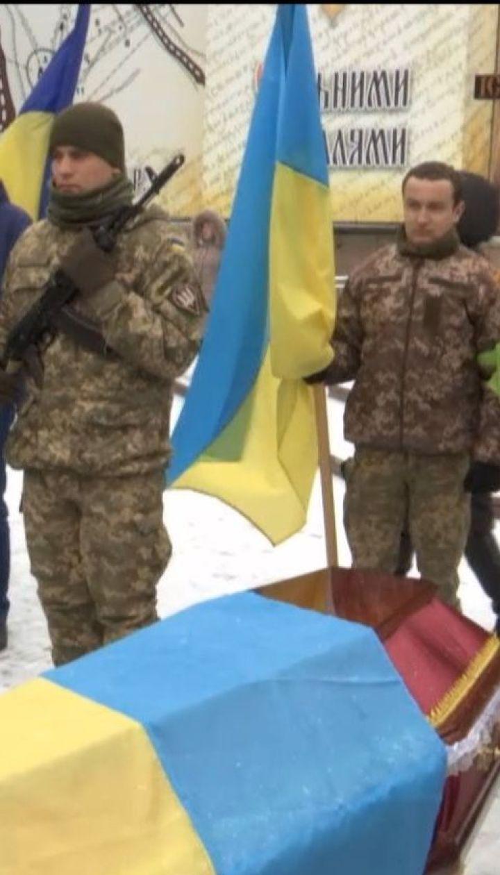 Украинцы попрощались с двумя бойцами 10 горно-штурмовой бригады