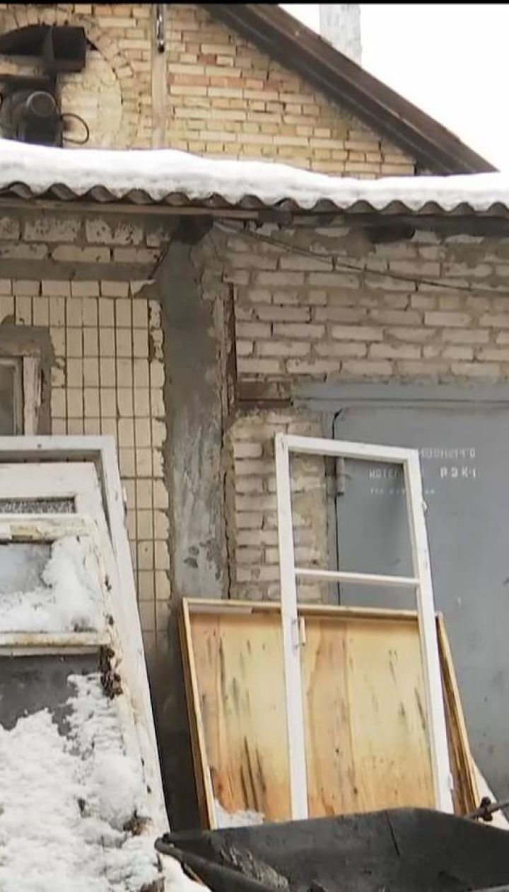 Три киевских дома вместо угля отапливают бытовым мусором