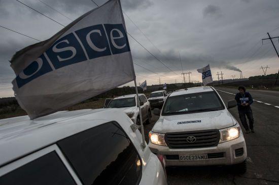 Терористи обстріляли безпілотники ОБСЄ на Луганщині