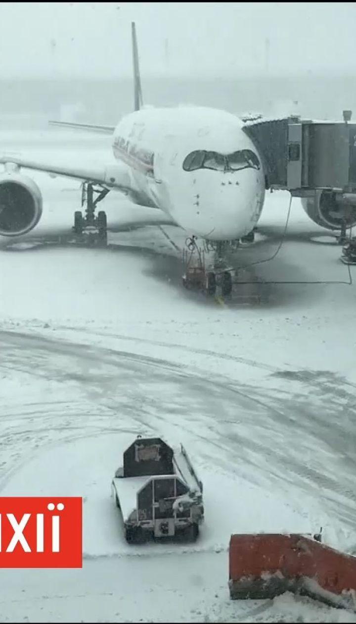 Зимняя непогода парализовала работу Мюнхенского аэропорта