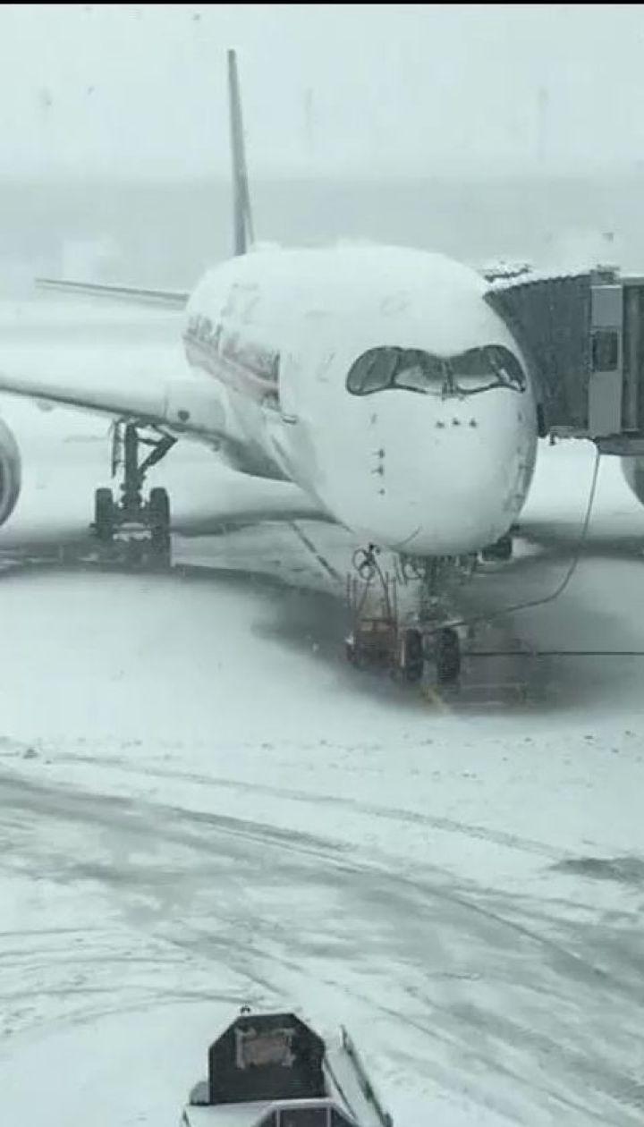 Зимова негода паралізувала роботу Мюнхенського аеропорту