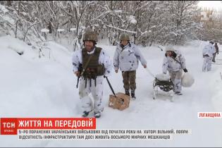 Продукты на санках и постоянные обстрелы: как живут местные жители в освобожденном ВСУ хуторе Вильный на Донбассе