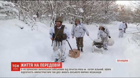 Продукти на санчатах та постійні обстріли: як живуть селяни у звільненому ЗСУ хуторі Вільний на Донбасі
