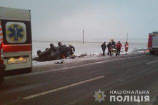 На Тернопольщине автомобиль с детьми попал в смертельную аварию