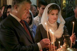 Порошенко примет участие в рождественском богослужении в Софии Киевской