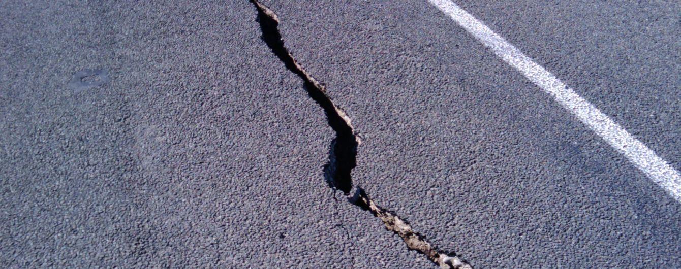 Возле японского острова произошло мощное землетрясение