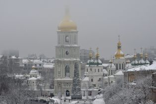 В Киеве демонтировали елку и подсчитали сколько под ней съели тонн мяса