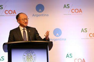 Глава Світового банку оголосив про відставку