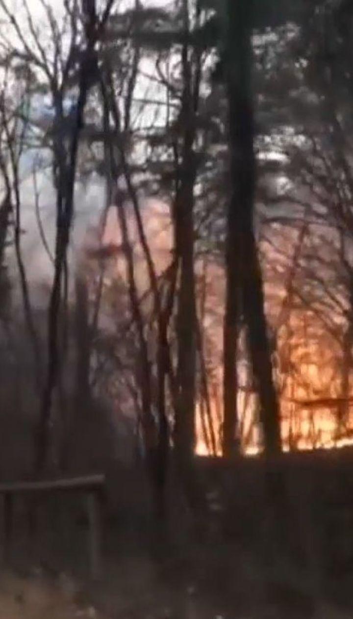 Север Италии охватили масштабные пожары
