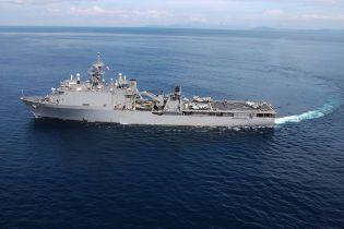 Військовий корабель США здійснить навчання у Чорному морі
