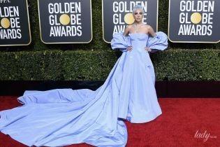 """У сукні з величезним шлейфом: Леді Гага отримала нагороду на церемонії """"Золотий глобус-2019"""""""