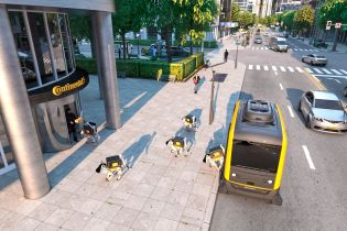 Доставка будущего: Continental посадило в беспилотники собак-роботов