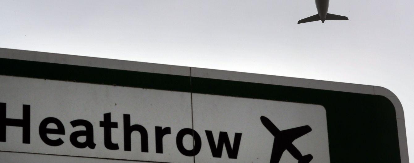 Аеропорт Хітроу призупинив роботу через появу безпілотника