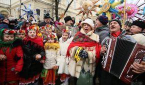 Вулицями Львова пройшов яскравий і гучний хід звіздарів