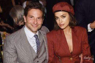 В ансамблі від Versace: стильна Ірина Шейк супроводжувала Бредлі Купера на церемонії в Нью-Йорку